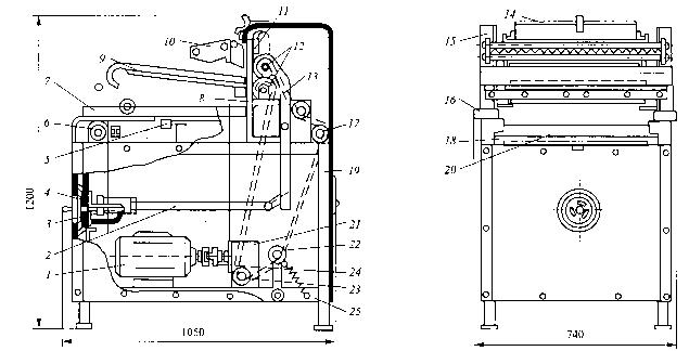 машина МРТ-60М: 1