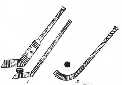 Как сделать клюшку в домашних условиях для хоккея