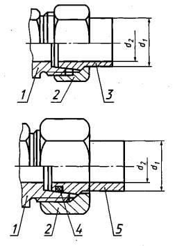 Ниппели конические приварные ГОСТ 28016-89.