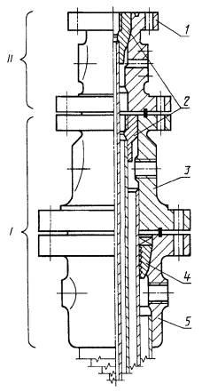 Схема колонной обвязки