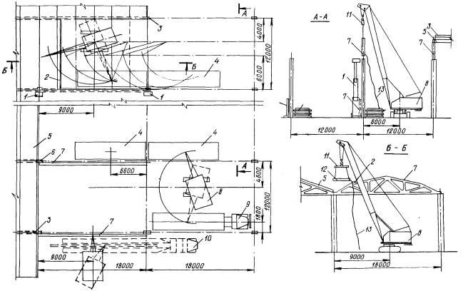 Схема установки фермы
