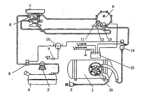 Электрическая схема газового оборудования фото 593