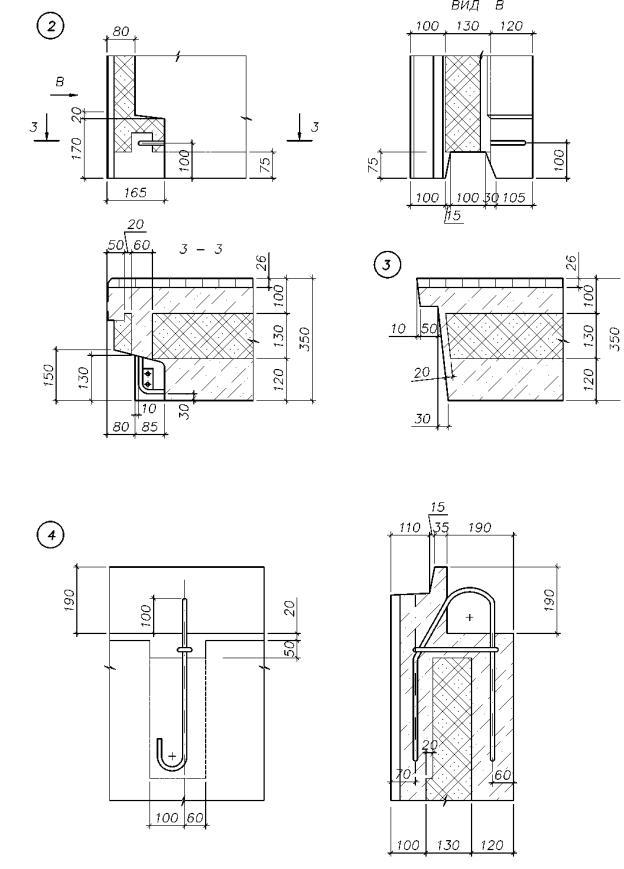 Железобетонная стеновая панель теплопроводность время изготовления жби